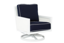 Replacement Cushions for Sunset West Regatta Swivel Rocking Club Chair