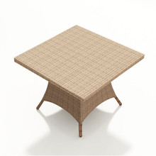 Forever Patio Hampton Wicker Square Dining Table 48 Inch by NorthCape International