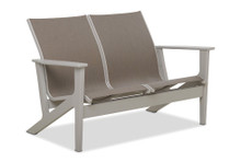 Telescope Casual Wexler Sling Chat Two-Seat Loveseat