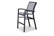Telescope Casual Kendall Sling Stacking Bar Height Cafe Chair