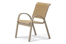 Telescope Casual Aruba II Sling Dining Height Stacking Cafe Chair