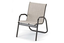 Telescope Casual Gardenella Sling Stacking Arm Chair