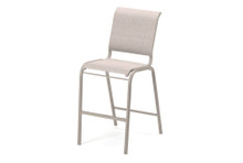 Telescope Casual Gardenella Sling Stacking Bar Height Armless Cafe Chair
