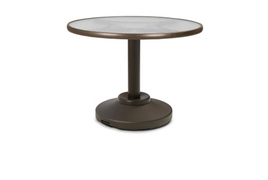 """Dining Height 80-Pound Pedestal Table Legs Only for 36"""" Round Table Top"""