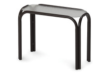 "11""x25"" Rectangle Obscure Acrylic Top Chaise Table"