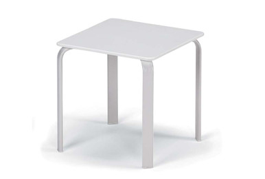 "18"" Square Marine Grade Polymer Top End Table"