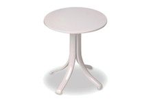 "18"" Round Marine Grade Polymer Top End Table"
