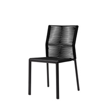 Source Furniture Avalon Dining Side Chair - Black Durarope