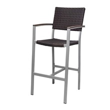 Source Furniture Fiji Bar Arm Chair - Espresso