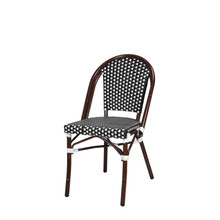 Source Furniture Paris Dining Side Chair - Black & White