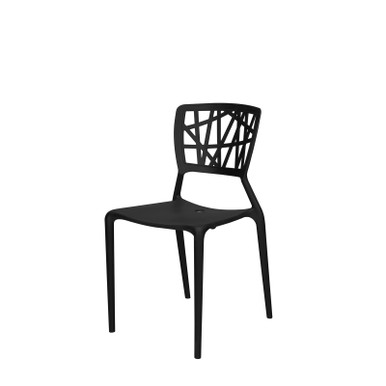 Source Furniture Phoenix Resin Chair - Black