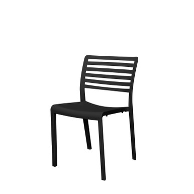 Source Furniture Savannah Resin Chair - Black