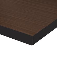 Source Furniture Prime Square Table Top - Dark Wood Look