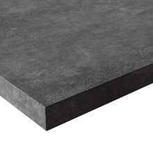 Source Furniture Concreto Rectaungular Table Top - Semeru Dark Gray Concrete