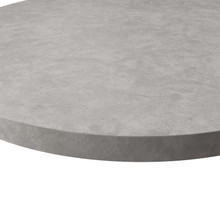 Source Furniture Concreto Round Table Top - Ipala - Concrete