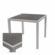 Source Furniture Sedona Square Table Base - Prime Gray Wood Top
