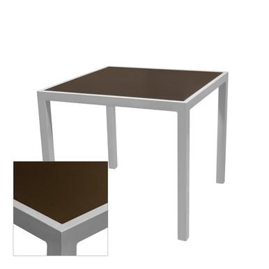 Source Furniture Sedona Square Table Base - Corsa Bronze Age Top