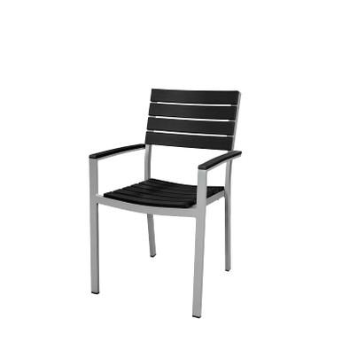 Source Furniture Vienna Dining Arm Chair - Black