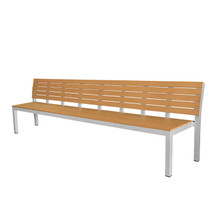 Source Furniture Vienna 10' Highback Bench