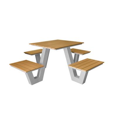 Source Furniture Vienna Square Picnic Table