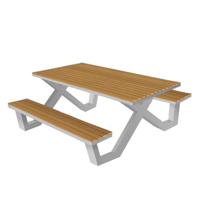 Source Furniture Vienna 6' Picnic Table