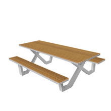 Source Furniture Vienna 8' Picnic Table