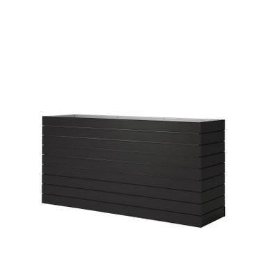 Source Furniture Vienna Medium Durawood Planter - Black