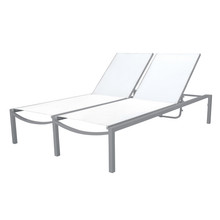 Source Furniture Fusion Double Armless Chaise