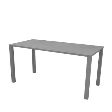 Source Furniture Fusion Rectangular Table Top - Fusion Legs Attached