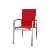 Source Furniture Tides Dining Arm Chair - Front Quarter View