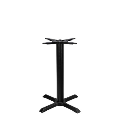 Source Furniture Valencia 4 Dining Table Base - Front View