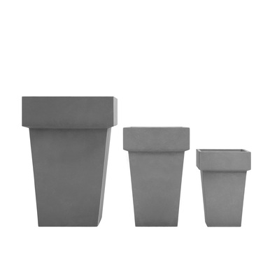 Elements Square with Edges Planter - All Styles