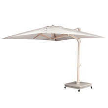 Source Furniture The Grand 10' Cantilever Umbrella - Wood Grain Base