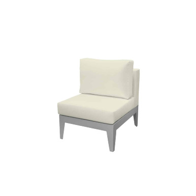 Source Furniture South Beach Armless Lounge Chair