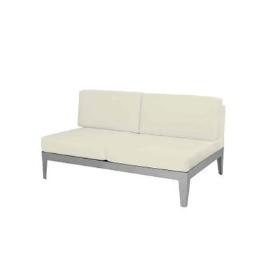 Source Furniture South Beach Armless Loveseat