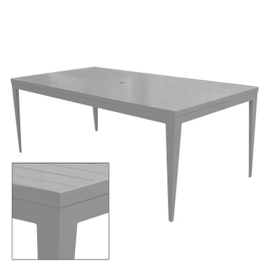 Source Furniture South Beach Dining Table - Rectangular