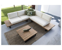 Hospitality Rattan Norman's Cay 3 PC Sectional