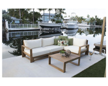 Hospitality Rattan Grand Cay 5 PC Modular Sectional