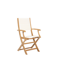 Sunset West Huntington Folding Dining Chair