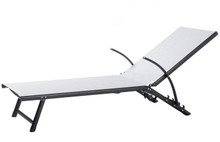 Alfresco Home Oceanview Stackable Foldable Chaise Lounge