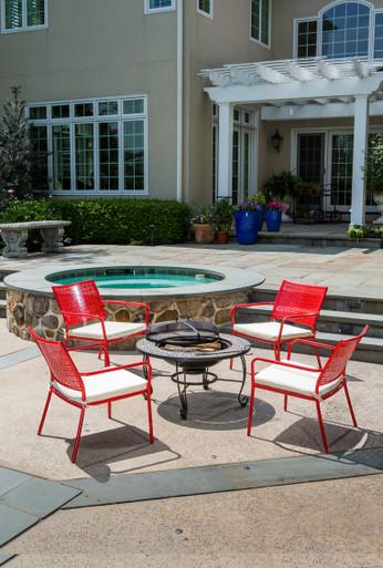 Alfresco Home Martini Low Profile Lounge Chair