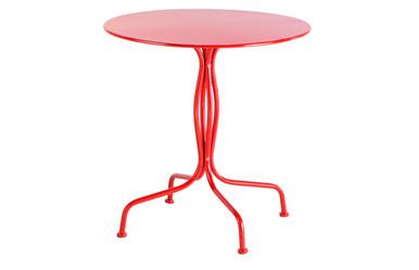 """Alfresco Home Martini 27.5"""" Round Bistro Table - Cherry Pie Finish"""