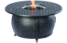 "Alfresco Home Margherita 48"" Round Gas Fire Pit w/ Firebeads"