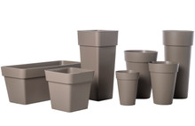Alfresco Home Duo Pot w/ Container - Tortora