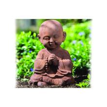 Alfresco Home Praying Buddha - Antique Rust