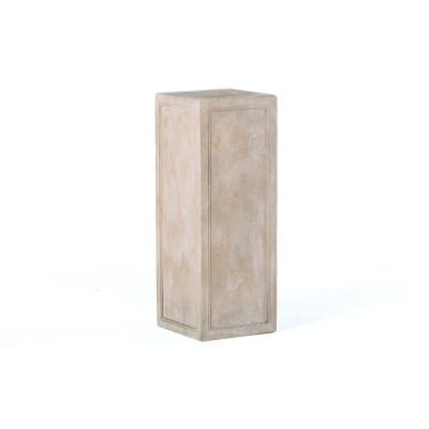 Alfresco Home Tall Contadina Pedestal - Tallow