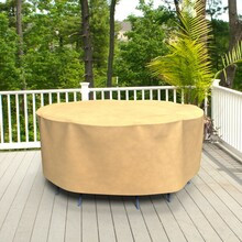 Budge Industries All Seasons Round Table/Chair Combo Cover