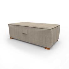 Budge Industries English Garden Patio Ottoman/Coffee Table Cover - Medium