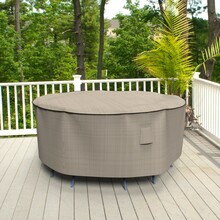Budge Industries English Garden Round Patio Table/Chairs Combo Cover