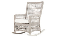 Replacement Cushions for Lloyd Flanders Mackinac High Back Porch Rocker